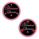 FLASHING DRAMA QUEEN BUTTON