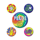 60'S PARTY BUTTONS