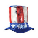 UNCLE SAM TOP HAT FULL HEAD SIZE
