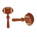 Beistle 60930-BR Football Clappers 7In.