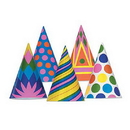 Beistle 66025 Party Hats Assorted