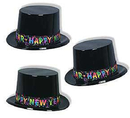 Partypro  Celebrate New Year Top Hat (Each)
