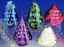 CHAMPAGNE ASSORTED PARTY HATS (EACH)