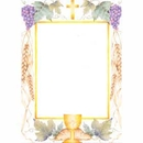 Partypro 191191 First Communion Imprintable Flat Card
