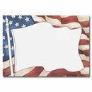 Partypro 19149 American Flag Imprintable Flat Card