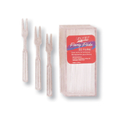 Partypro 01456 Clear Party Forks