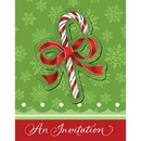 Partypro 896910 Candy Cane Bliss Invitation W/Attachment