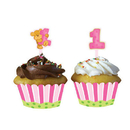 Creative Converting  Bears 1St Birthday Girl Cupcake Wrappers