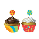 Partypro  Sugar Buzz Cupcake Wrappers