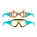 Creative Converting  Ocean Party Wearable Glasses