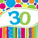 Creative Converting  Bright And Bold 30 Lunch Napkin
