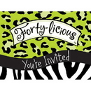 Partypro  Forty-Licious Invitation
