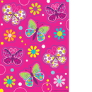 Partypro 041691 Butterfly Sparkle Value Stickers
