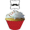 Creative Converting  Mustache Madness Cupcake Wrappers