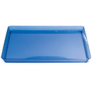 Creative Converting 173428 Blue 11.5 In. Square Tray