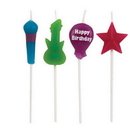 Partypro 101153 Rock Pick Set Candle