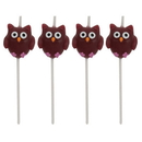 Creative Converting 101154 Owls Pick Set Candle