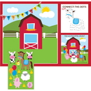 Creative Converting 865506 Farmhouse Fun Placemats-Stickers