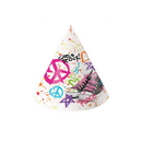 Partypro 021583 Discontinued Girls Rock 80'S Party Hats