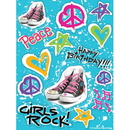 Partypro 041583 Discontinued Girls Rock 80'S Stickers