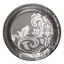 Partypro 437396M Silver Anniversary Banquet Plates