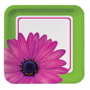 Partypro 432546 Discontinued Daisy Power Banquet Plate