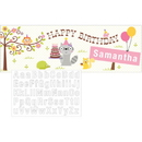 HAPPI WOODLAND GIRL GIANT PARTY BANNER