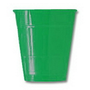 12OZ GREEN PLASTIC CUP (20 CT.)