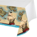 Creative Converting 725969 Pirate'S Map Plastic Tablecover