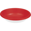 173548 Red 20 Oz Paper Bowl