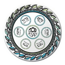 Partypro 420547 Passover Dinner Plate