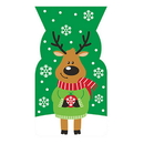 Partypro 316400 Reindeer Shaped Cello Bag