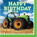 318052 Tractor Time Bday Lunch Napkin