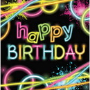 Partypro 318130 318130 Glow Party Bday Lunch Napkin