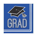 Partypro 320050 Grad Blue Lunch Napkin