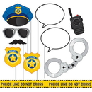 Creative Converting 329397 Police Party Photo Booth Prop