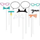 Creative Converting 329404 Purr-Fect Party Photo Booth Prop