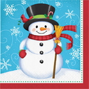Partypro 039938506858 Snowman And Penguin Lunch Napkins