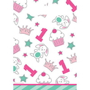 Partypro 332238 Doodle 1St Bday Girl Loot Bag