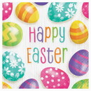 Partypro 335279 Easter Eggs Luncheon Napkin