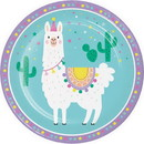 Partypro 339577 Llama Party Dinner Plate