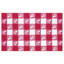 Creative Converting 37388 Red Gingham 30