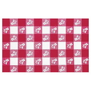 Creative Converting 37488 Red Gingham 29