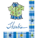 Partypro 93827 Discontinued It'S A Boy Thank You Notes