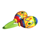 PAINTED MARACAS (2/SET)
