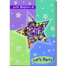 Partypro 497039 Discontinued Bday Shimmr 30 Shake Invite