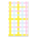 Partypro 539750 Colorful Gingham Guest Towel