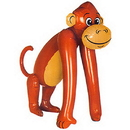 JUMBO INFLATABLE MONKEY (44IN.)