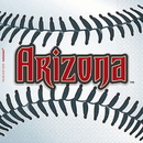 ARIZONA DIAMONDBACKS BEVERAGE NAPKIN