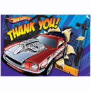 Partypro 489381 Hot Wheels Speed City Thank You Notes